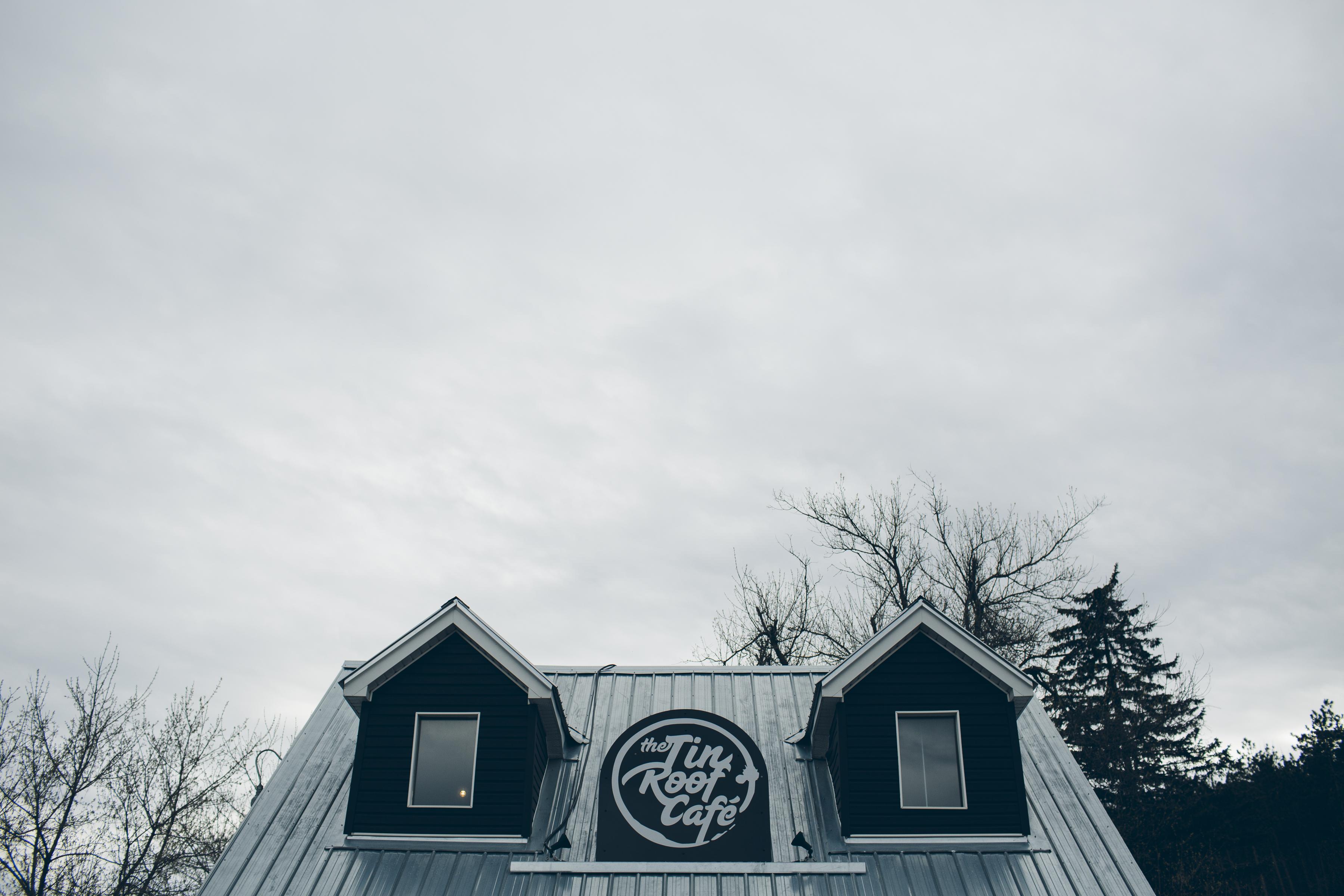 Exterior Tin Roof Cafe