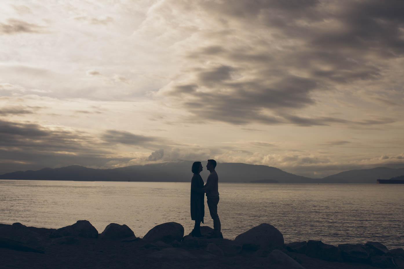 Spanish Banks Beach Wedding Portraits Vancouver Locations
