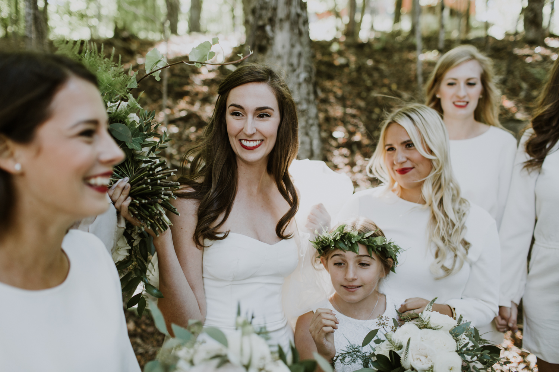 flower girl inspiration. Floral crown, white dress