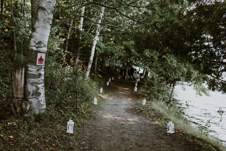 Summer Camp Wedding Muskoka
