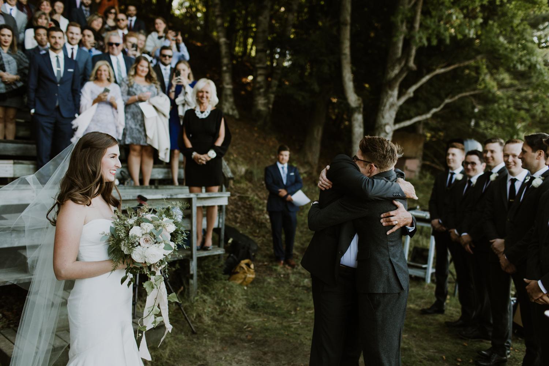 Muskoka Summer Camp Wedding