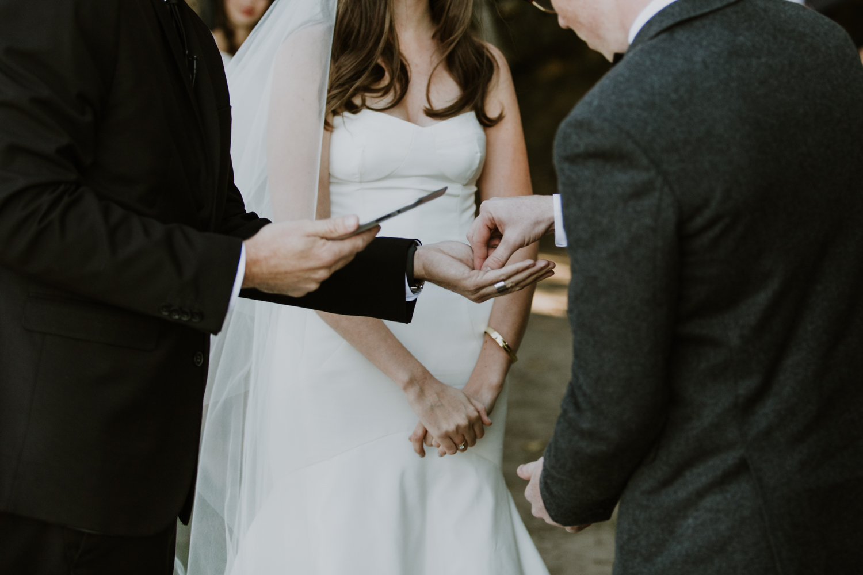 Muskoka wedding rings