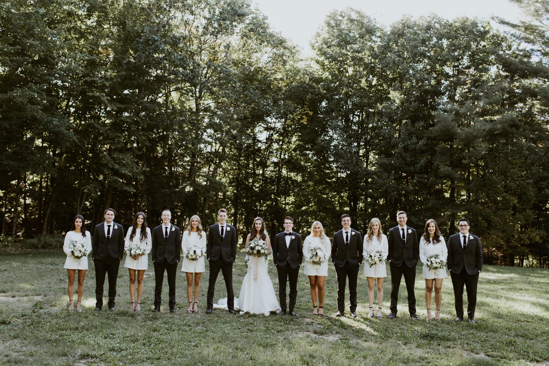 Muskoka Bridal Party