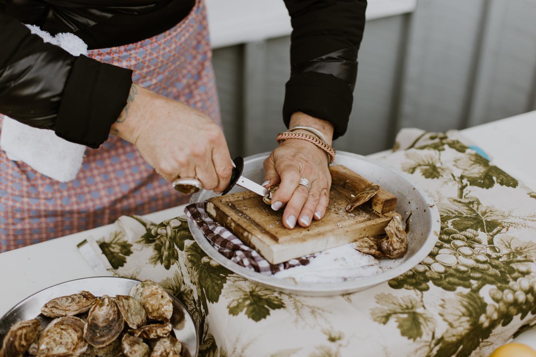 oysters that wedding reception