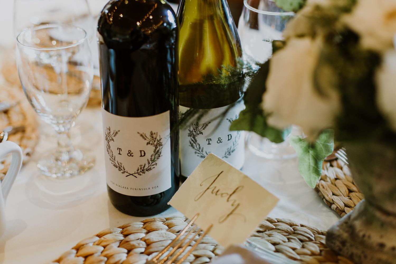 Mukoka wedding wine