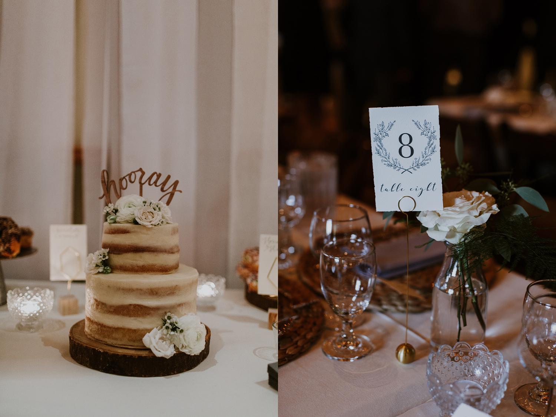 wedding cake. muskoka, Huntsville ON baker