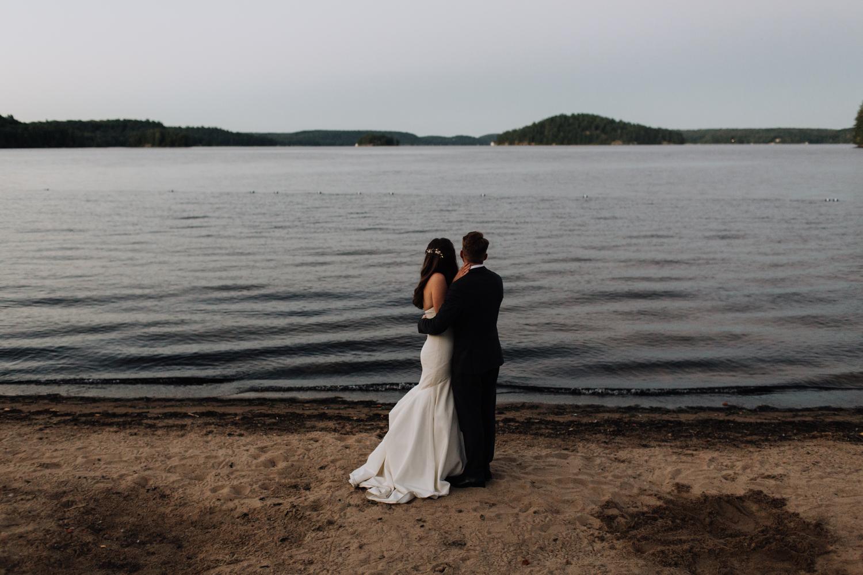 Port Sydney, Huntsville ON Wedding Photographer Lake