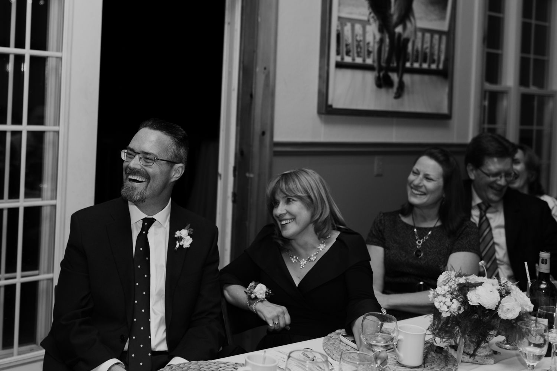 Muskoka Wedding reception