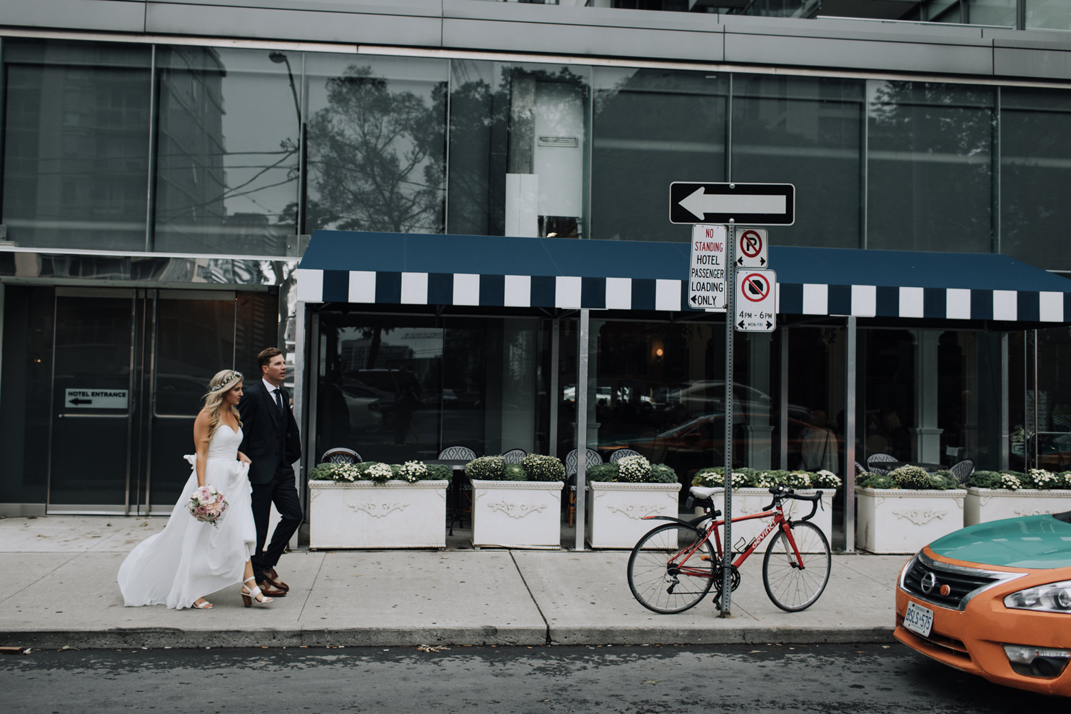 Urban documentary Toronto Wedding Photos
