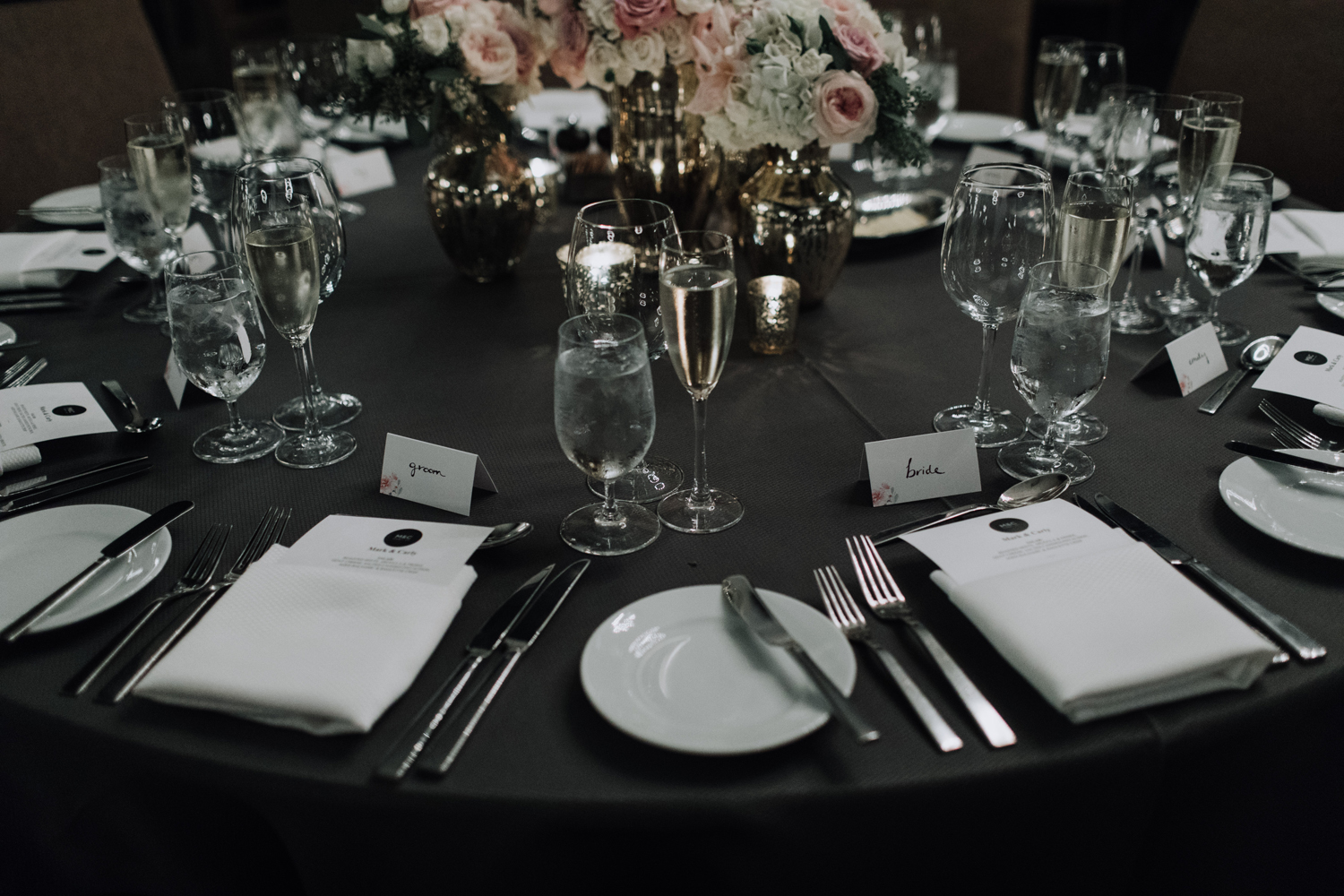 Thompson Hotel Ballroom Wedding