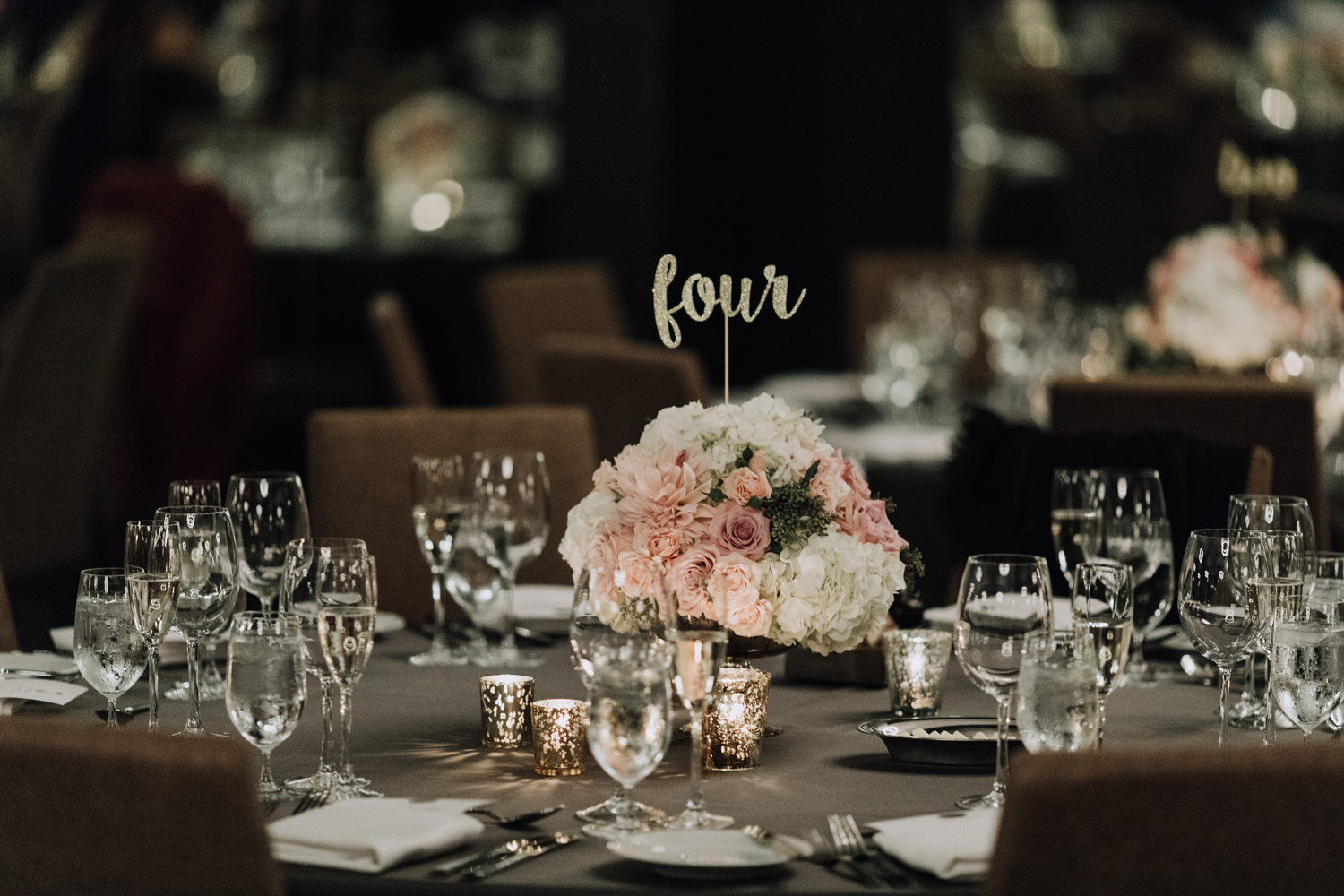 Toronto Wedding decor Florals centerpieces