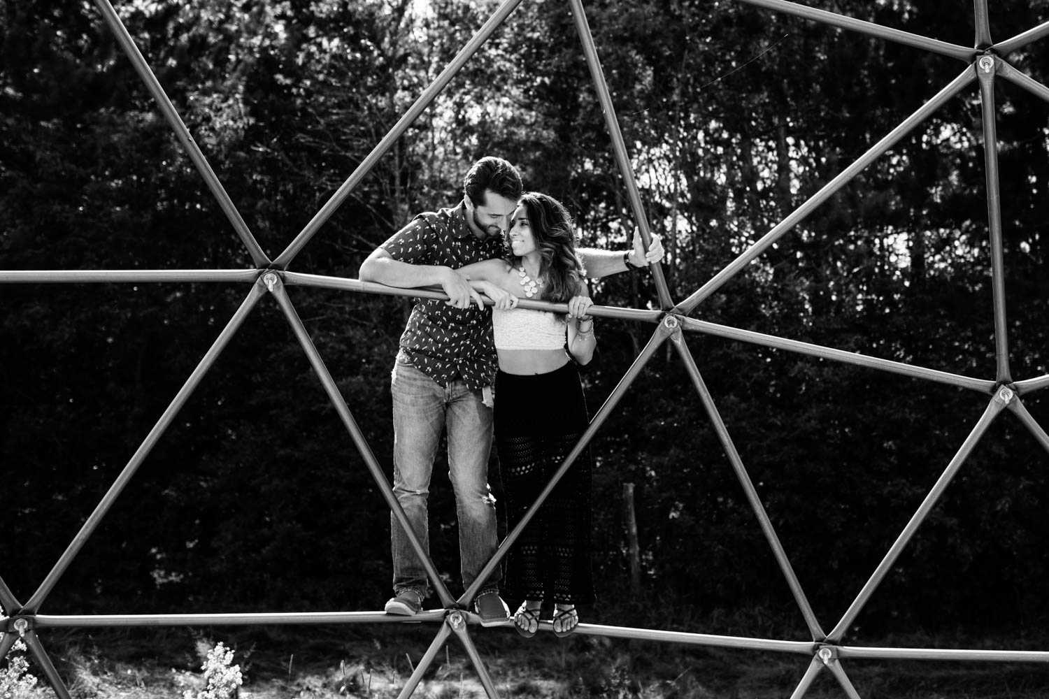 Engagement Session at Screaming Heads Muskoka