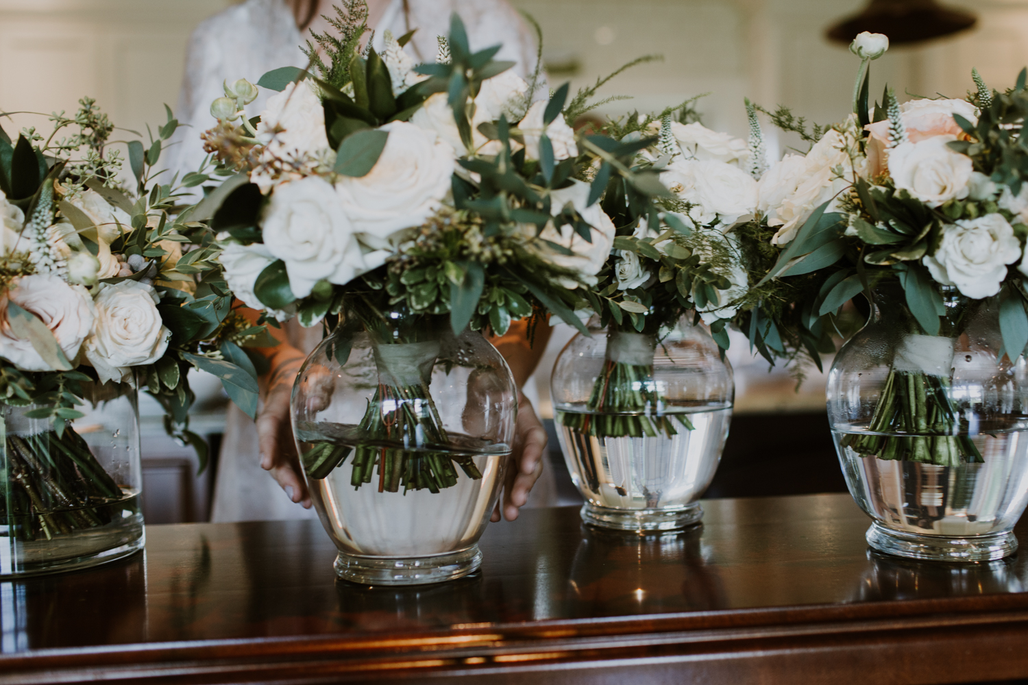 Wedding florals. Muskoka Wedding
