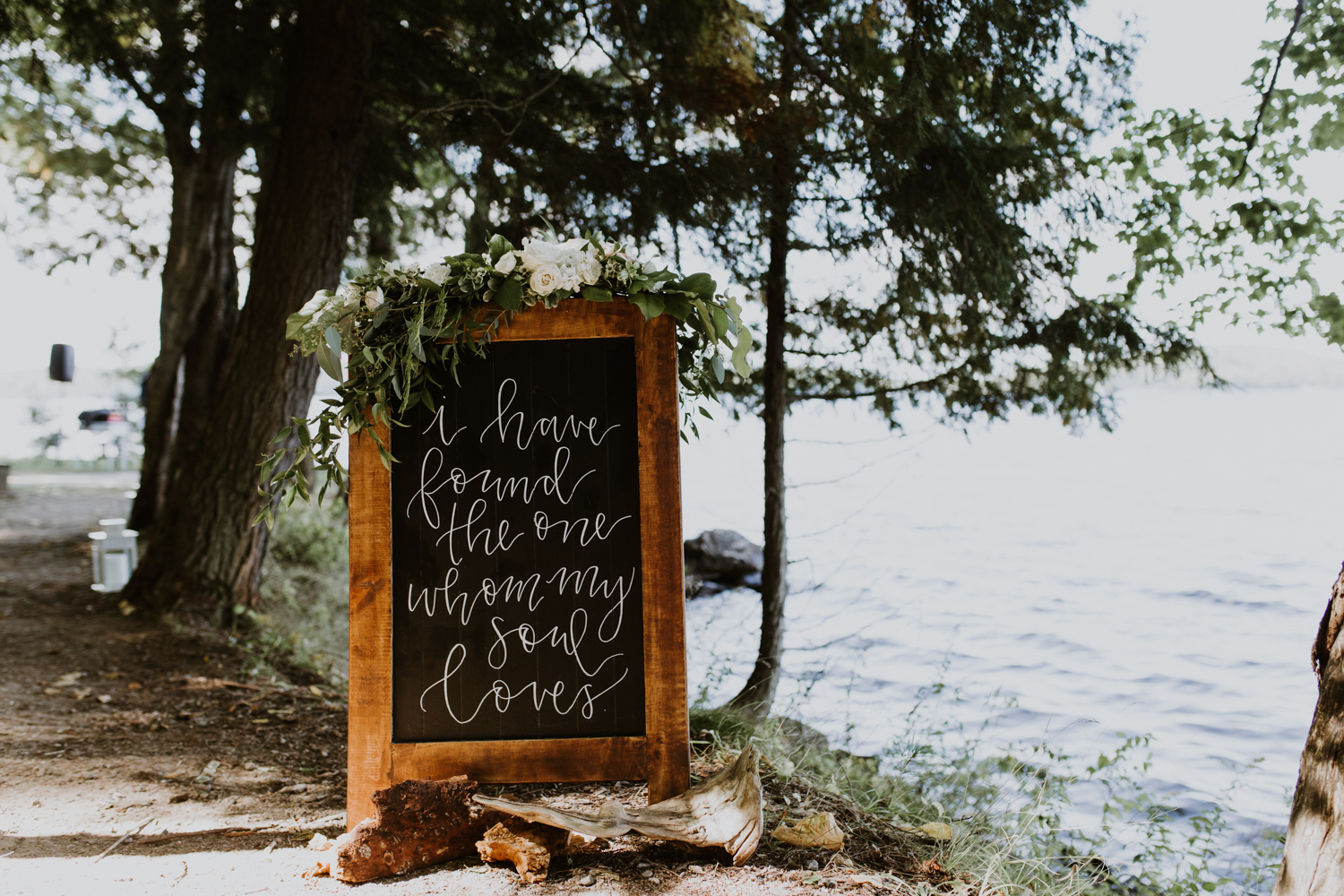 Summer Camp Wedding Muskoka