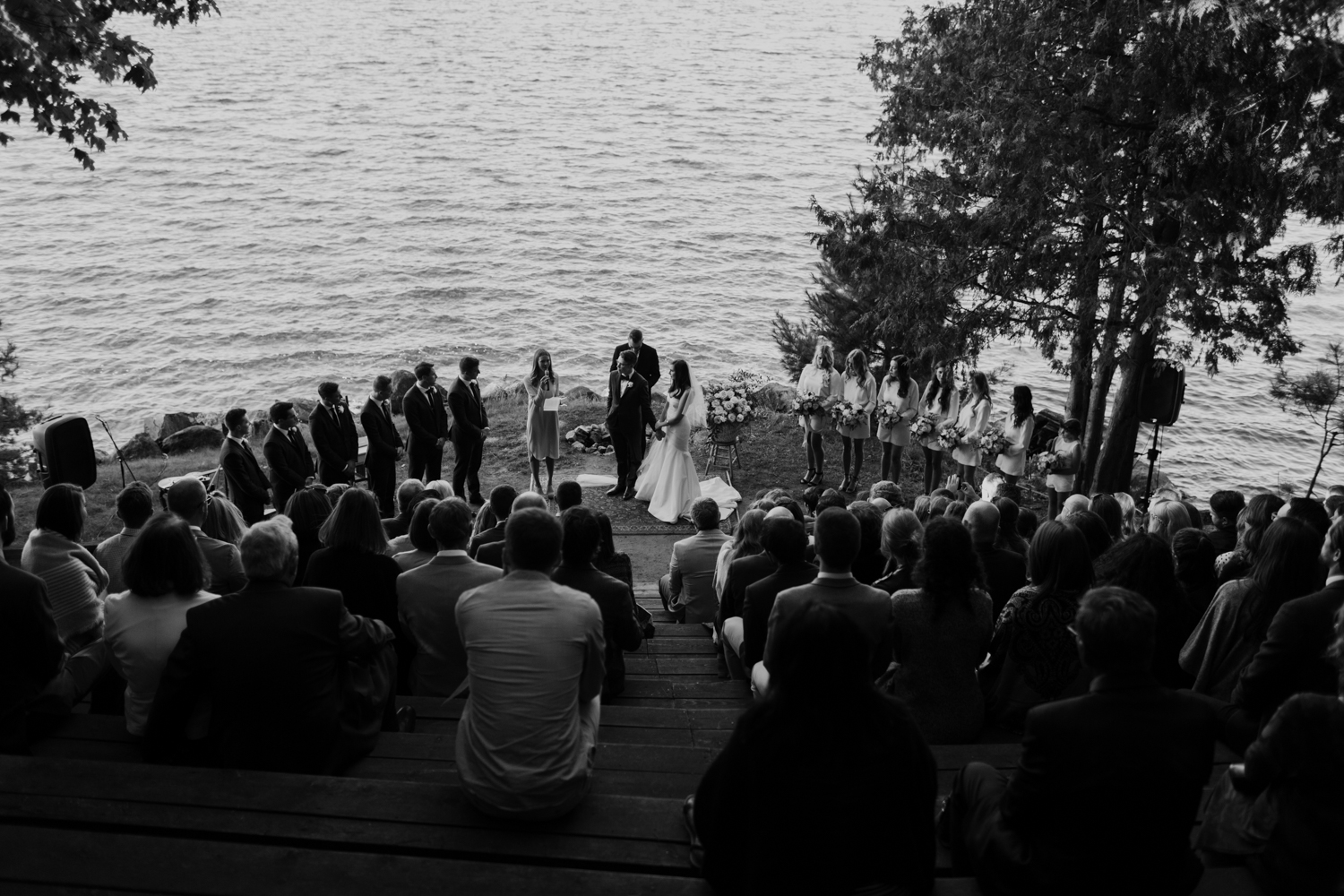 Muskoka Summer Camp Wedding
