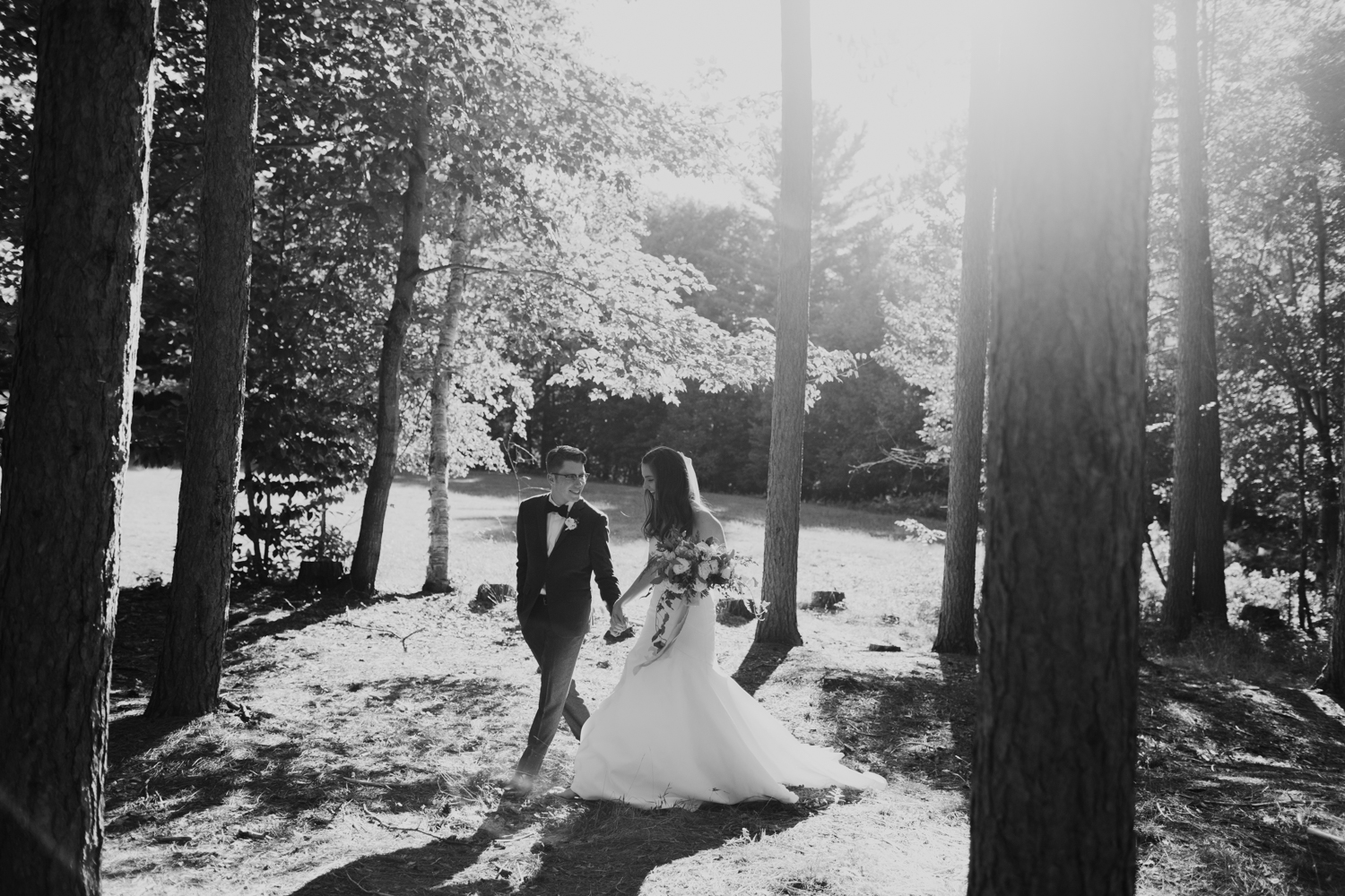 Muskoka wedding ceremony location