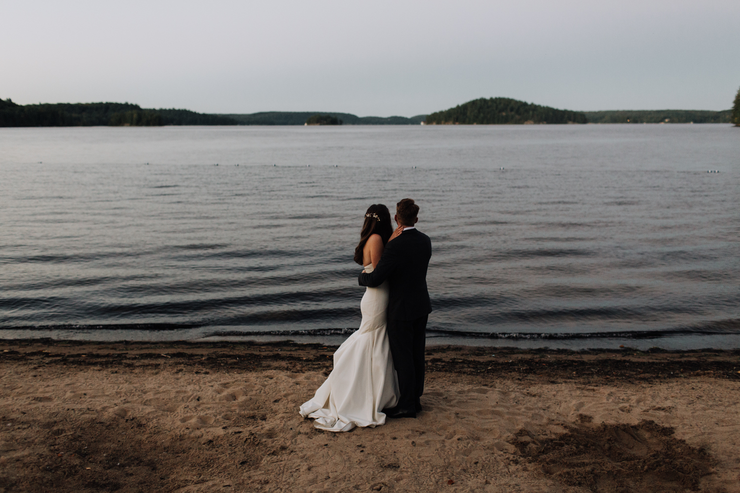 Port Sydney, Huntsville ON Wedding Photographer Lake