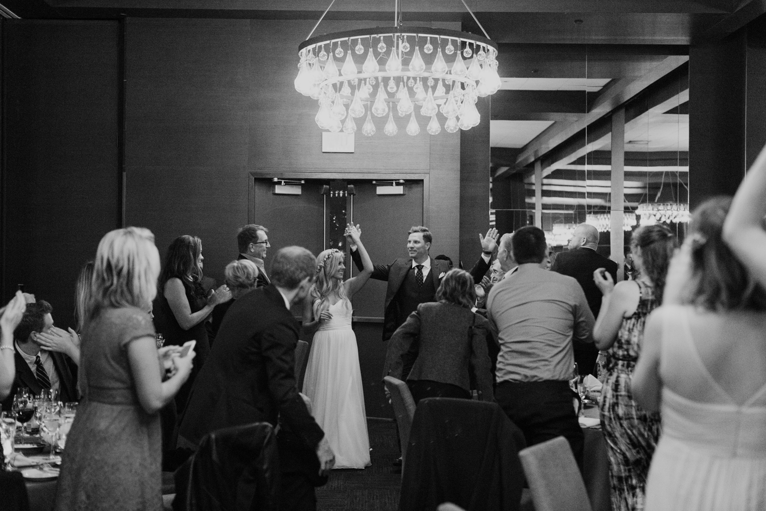 Thompson Hotel wedding reception ballroom
