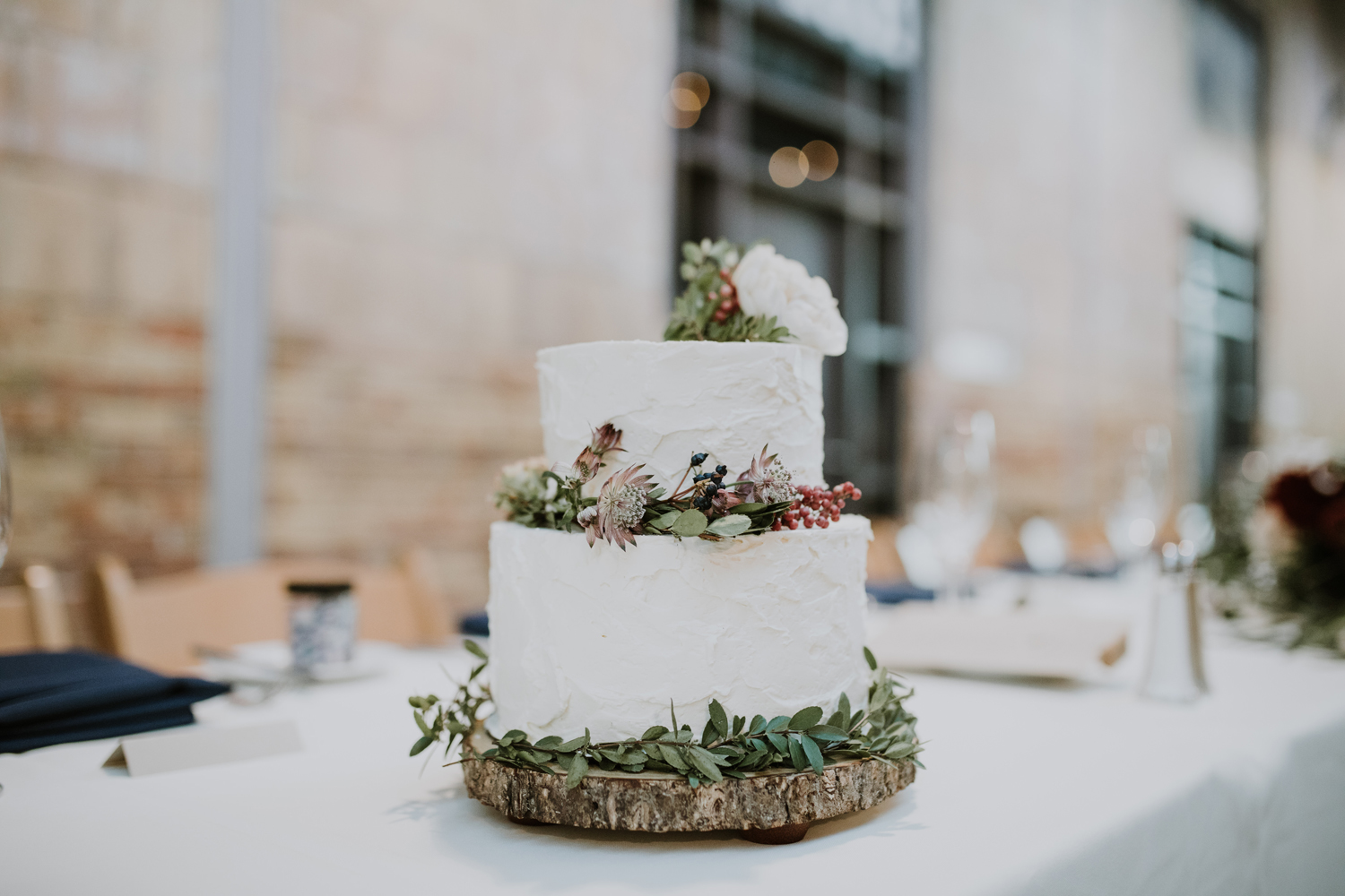 Crumb & Berry Toronto Wedding Cake