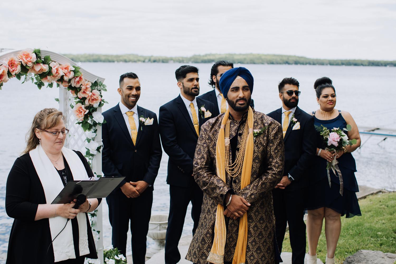 Balsam Lake Cottage Wedding Photographer
